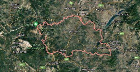 Δασικοί χάρτες Γρεβενά