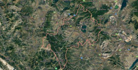 Δασικοί χάρτες Καστοριάς